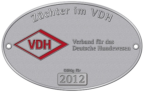 VDH Z�chterplakette